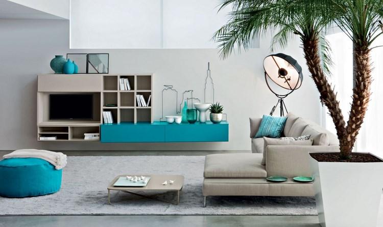 decoracion paredes muebles color verde vibrante ideas