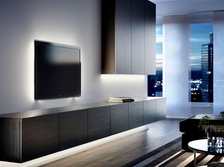 decoracion paredes muebles disenos simples ideas
