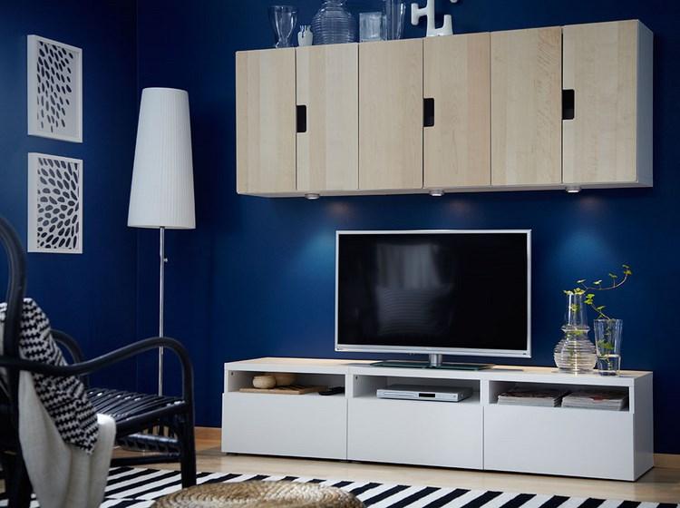 decoracion paredes muebles madera natural ideas