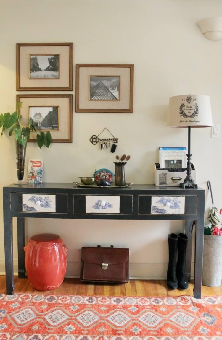 Recibidores con encanto 38 ideas para decorar - Decoracion recibidores ...