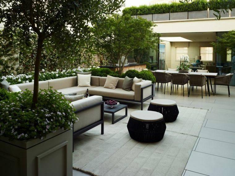 Decoraci n terrazas y jardines espectaculares for Decoracion terrazas modernas