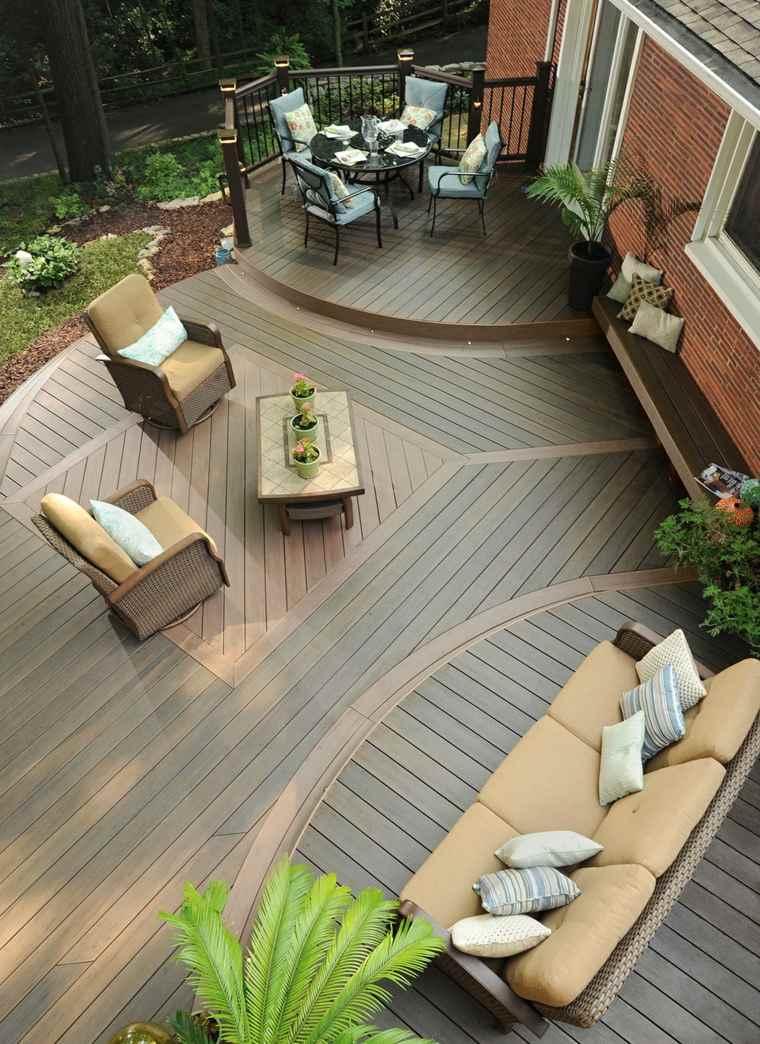 decoración terrazas distintos espacios descanso ideas