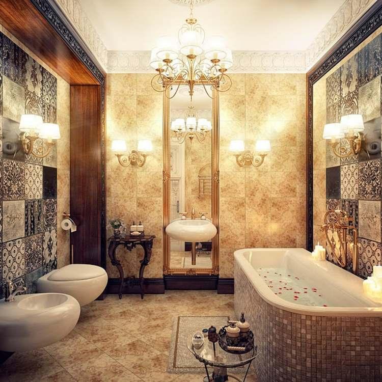 decoracion-vintage-de-interiores-baño-variante