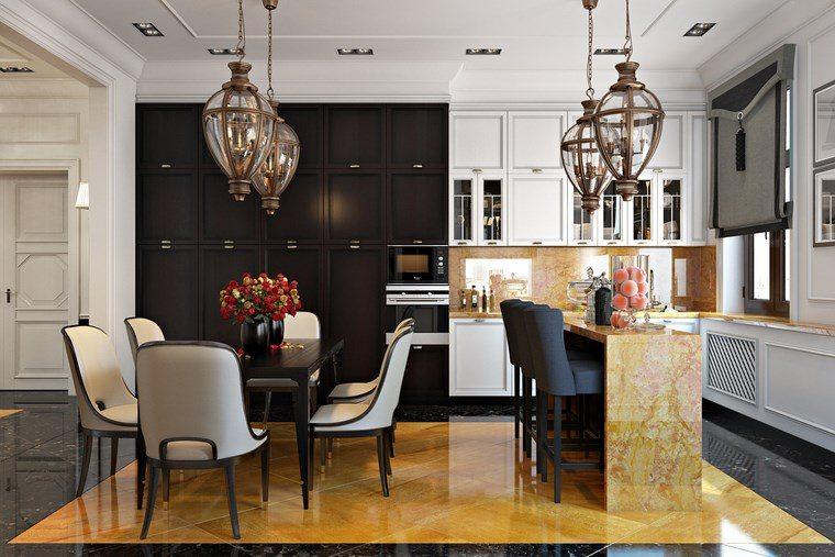 Decoracion cocinas peque as con estilo y modernidad - Cocina comedor diseno ...