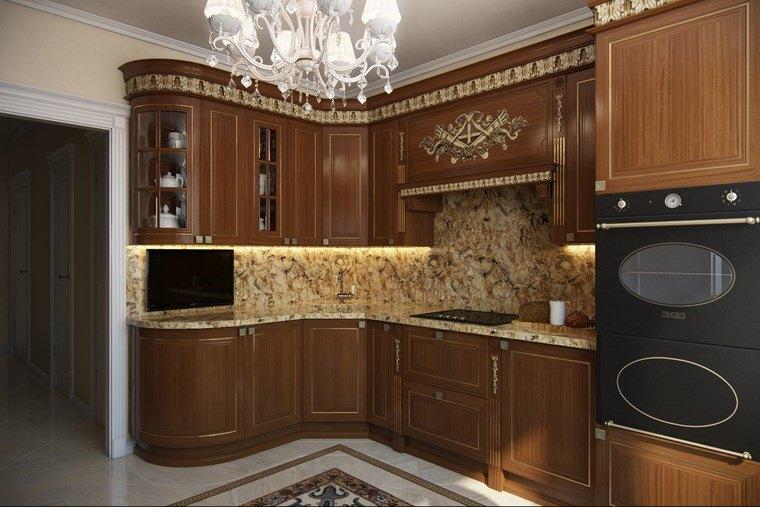 Decoracion cocinas peque as con estilo y modernidad Disenos de muebles para cocinas pequenas