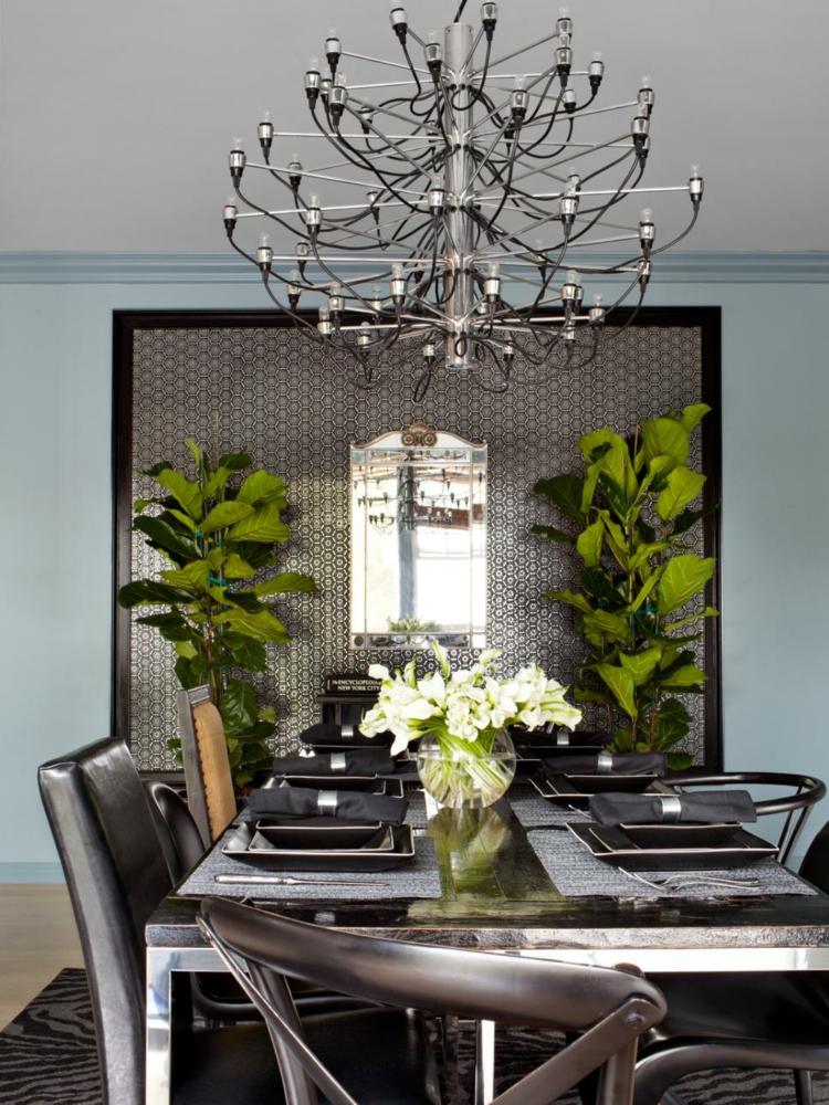 decorar con arte habitacion detalles comedores flores