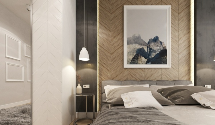 decorar con arte habitacion detalles ideas colgantes