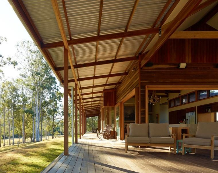 decorar terraza muebles madera ideas