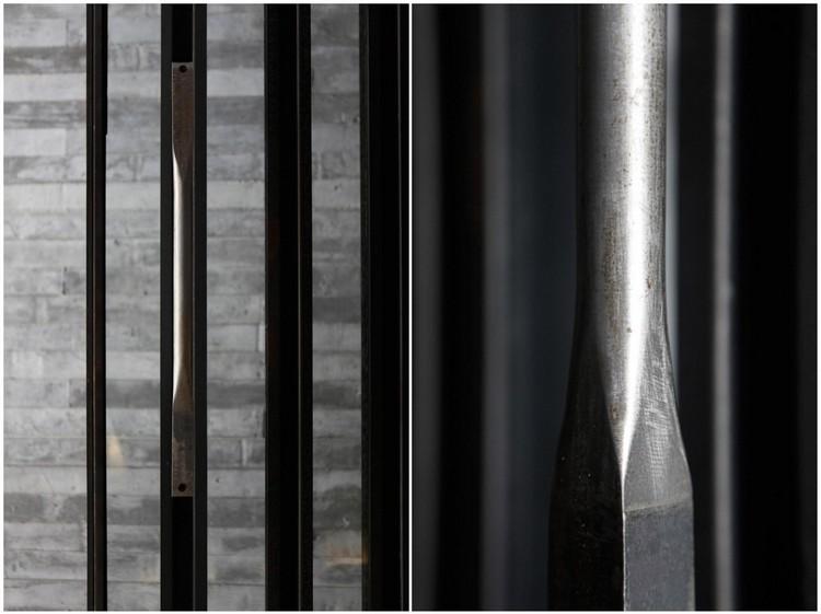 detalle acero texturas muebles ideas piezas