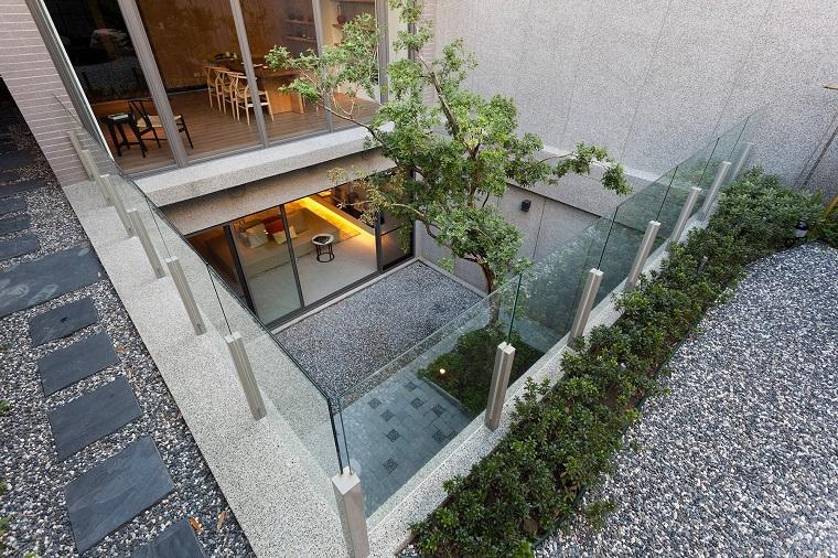 diseño patio terrazas interiores modernas