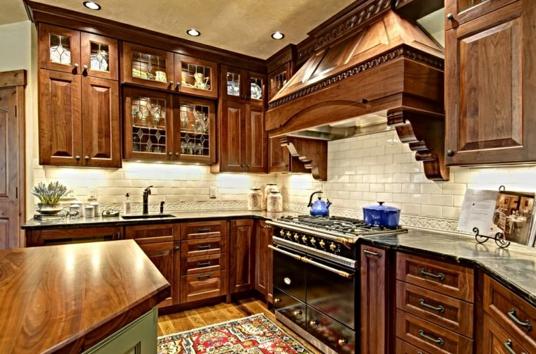 diseño bonito cocina madera