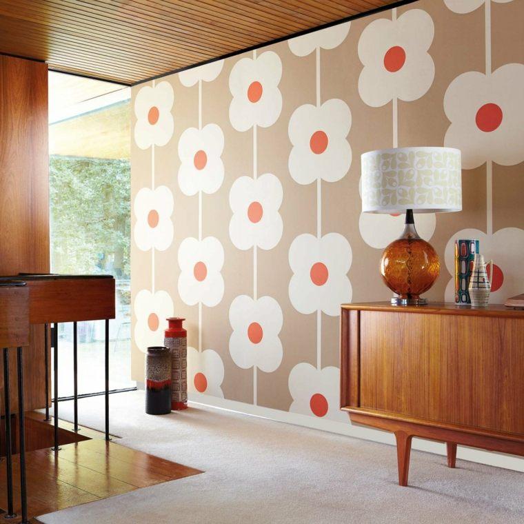 diseño decoración papel pared