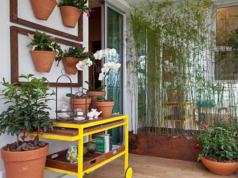 Decoracion de balcones y terrazas peque as 99 ideas for Terrazas simples