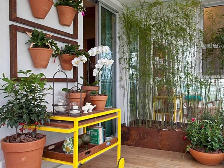 diseño decoración plantas terraza