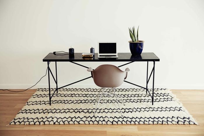 diseño elegante piezas decorado alfombra
