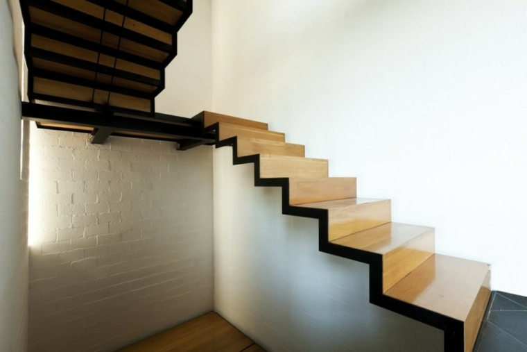 indoor stair railing pictures and ideas - Escaleras de interior modernas 50 diseños que marcan