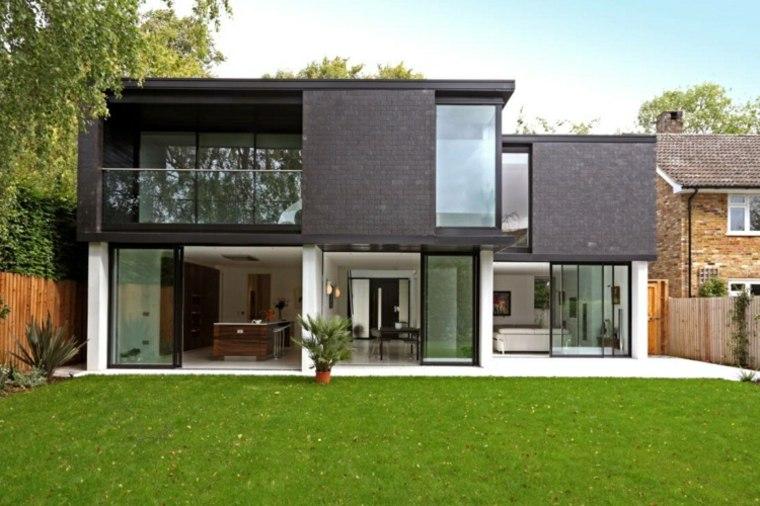 diseño fachada moderna estilo