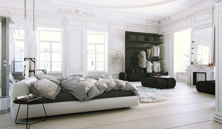 diseño habitación estilo moderno