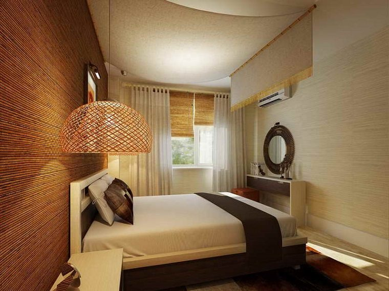 diseño dormitorio moderno pequeo