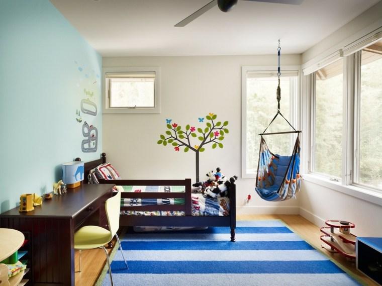 diseño habitaciones infantiles contemporáneas