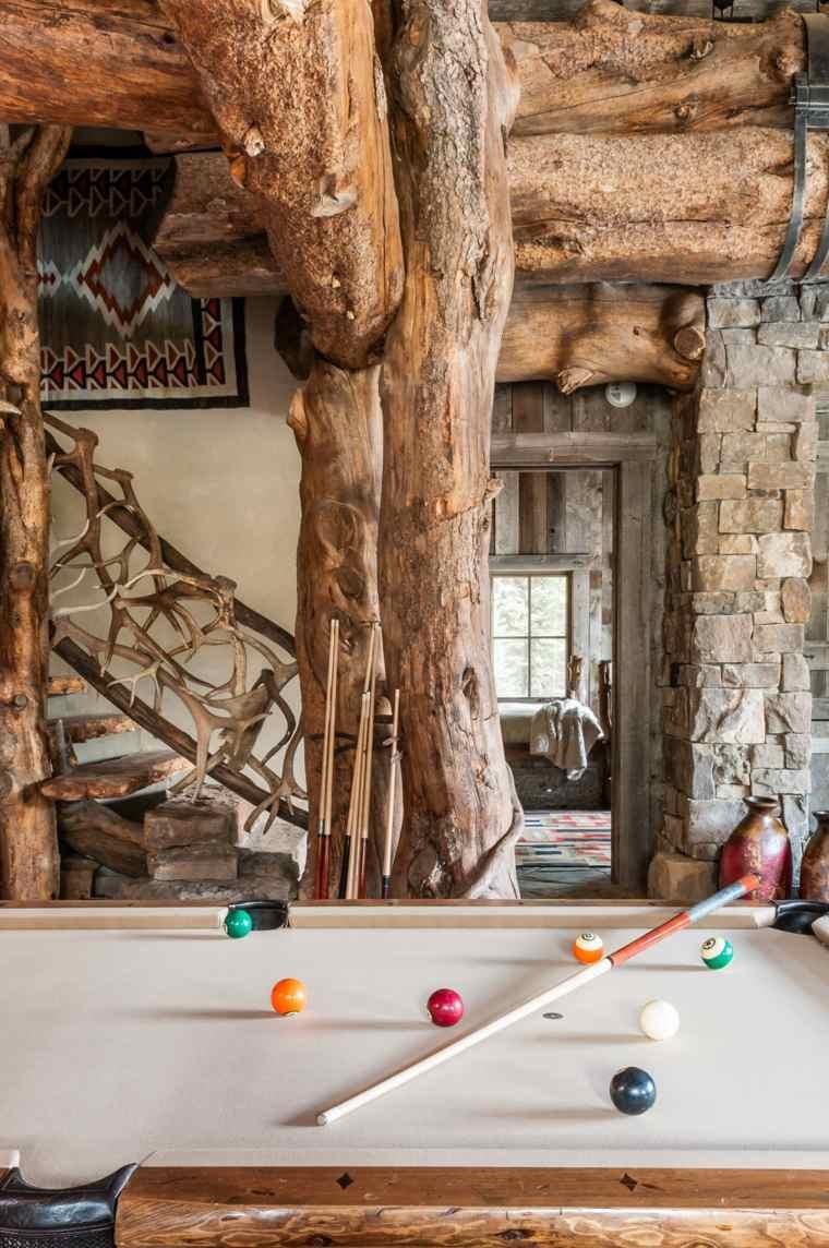 diseño interiores sala juegos madera