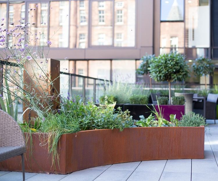 Jardinera de Twig Garden design