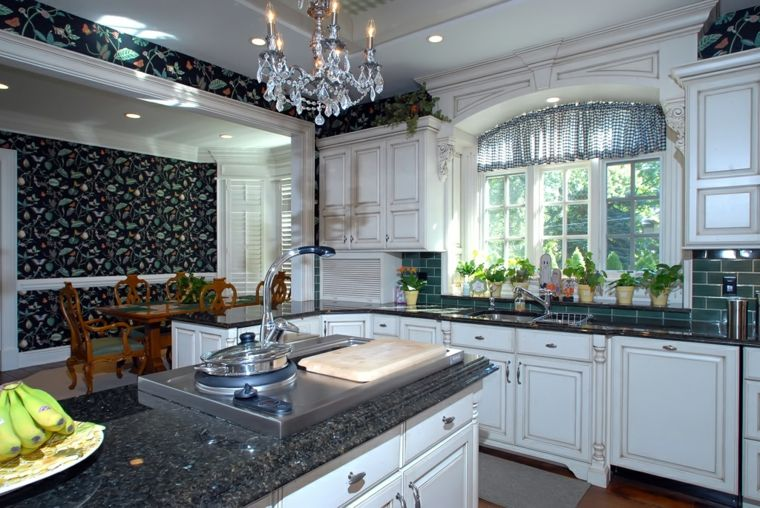 diseño estilo lujoso cocina retro