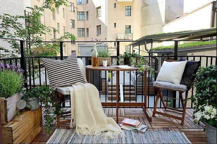 Decoracion De Balcones Y Terrazas Pequeñas 99 Ideas Geniales