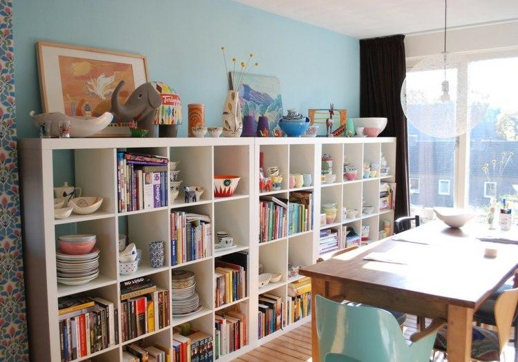 diseño mobiliario variantes azules organizador