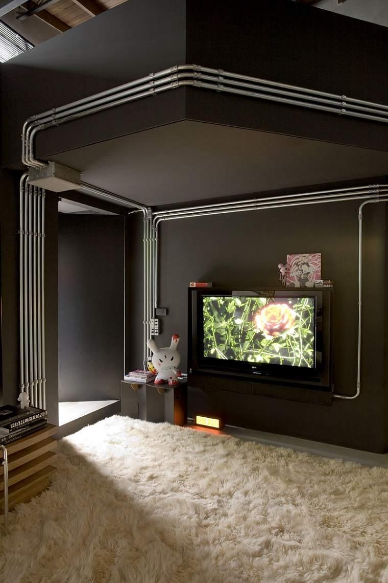 diseño estilo industrial GT house de Gilherme Torres