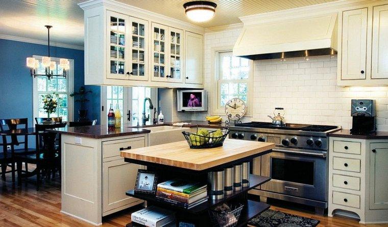 diseño moderno cocina obra