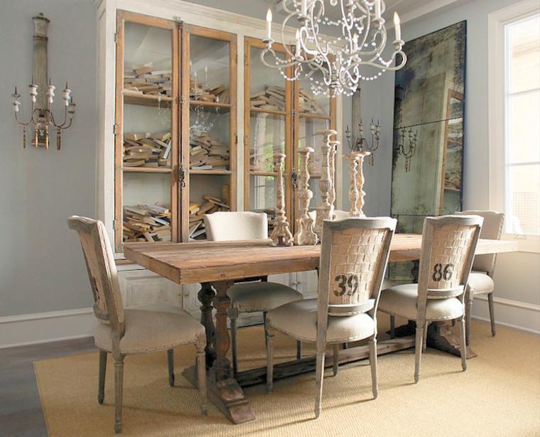 Decoracion sala comedor vintage - Muebles decoracion vintage ...