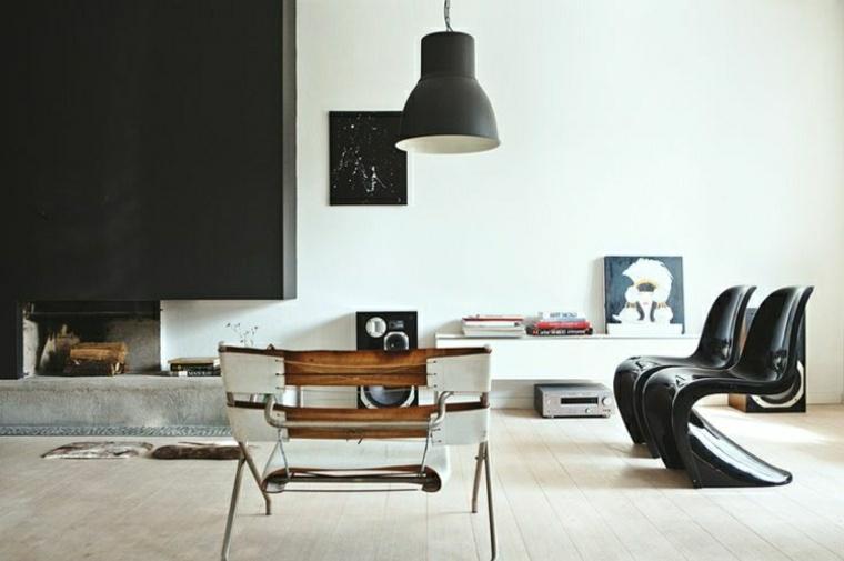 diseño salón estilo moderno