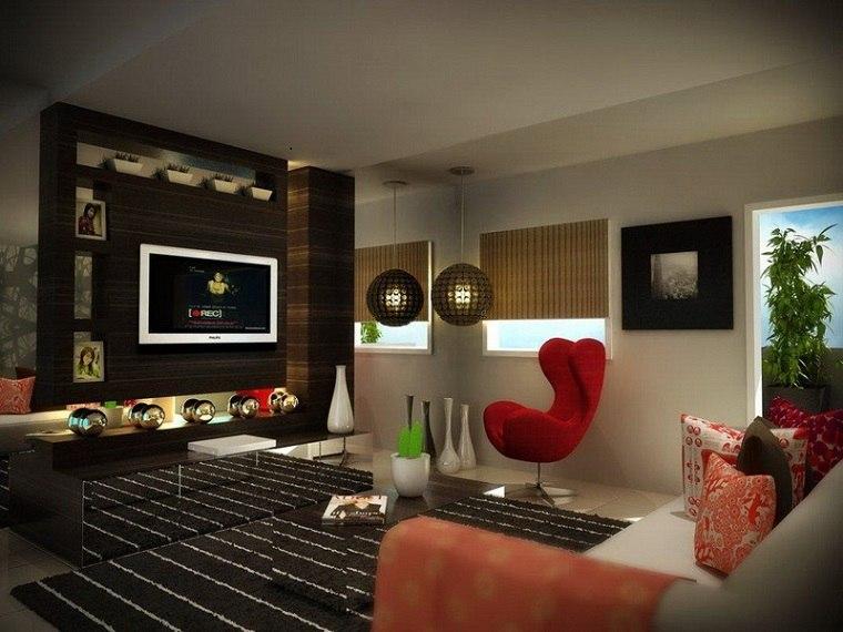 diseño salón pequeño moderno