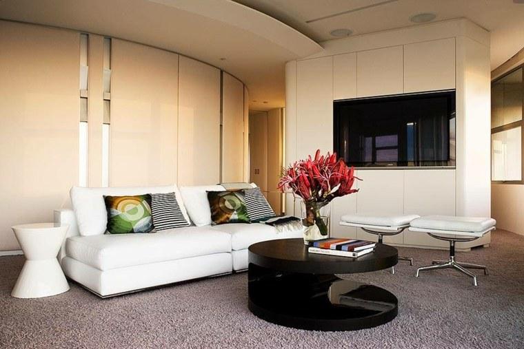 diseño salón bonito estilo moderno
