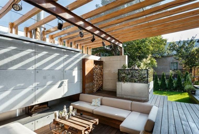 Sala De Estar Arquitectura ~ Sala de estar al aire libre diseñada por Svoya Studio