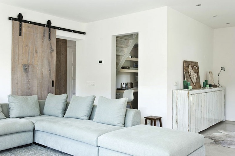 Maderas rusticas para decorar interiores 38 ideas for Puertas rusticas de madera interior
