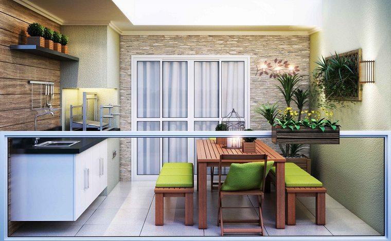 diseño moderno terraza groumet
