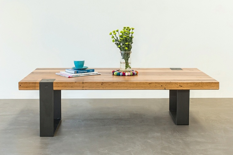 Mesas de comedor modernas de madera maciza 50 ideas for Mesas de comedor cuadradas de diseno