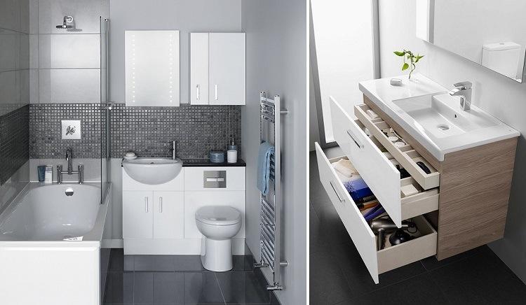 estupendos diseños baños funcionales