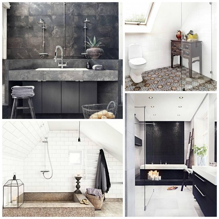 Baños Rusticos Originales:Muebles de baño modernos de estilo rústico – 49 modelos -