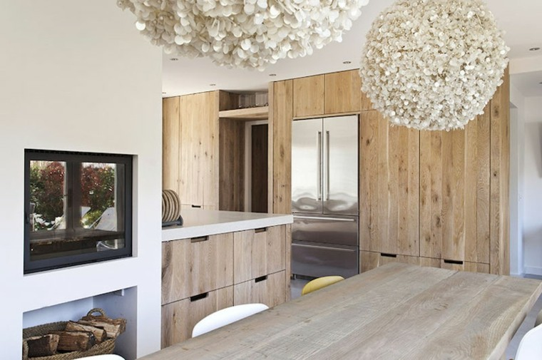 Maderas rusticas para decorar interiores 38 ideas - Diseno de interiores modernos ...