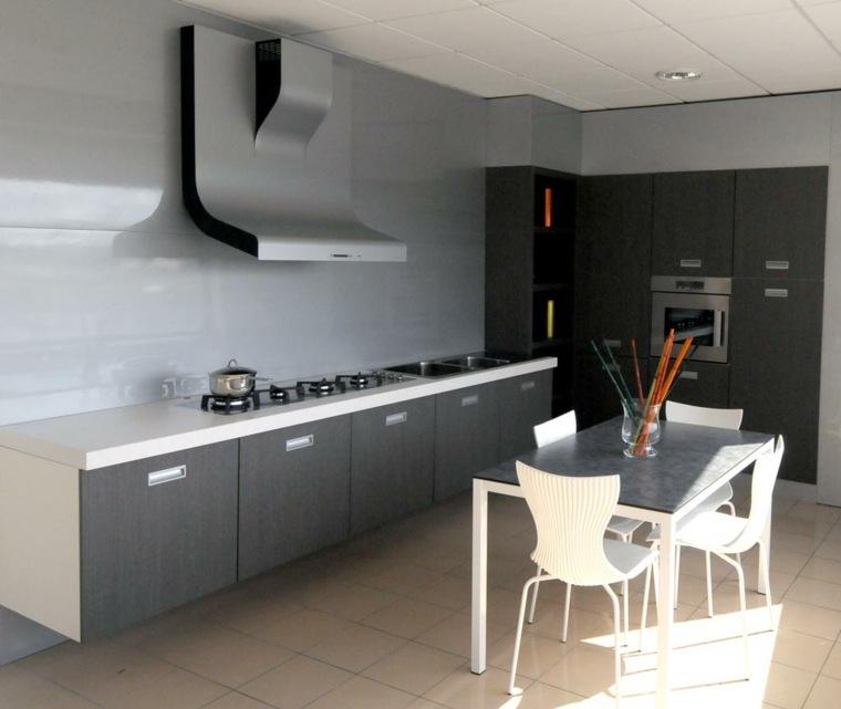 diseños modernos cocinas pequeñas deco