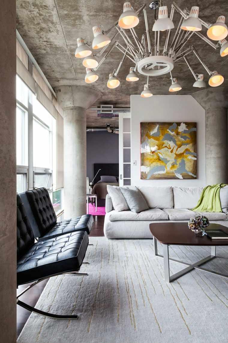 diseños modernos apartamentos industrialñes