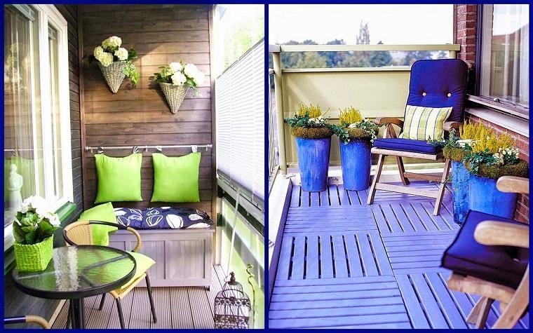diseños originales colores terrazas