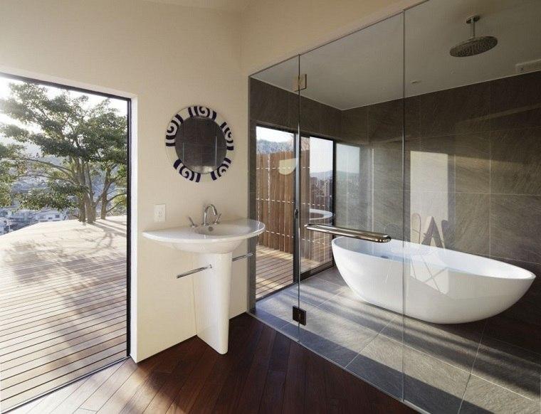 Baño Moderno Rustico:baños modernos muebles estilo rustico
