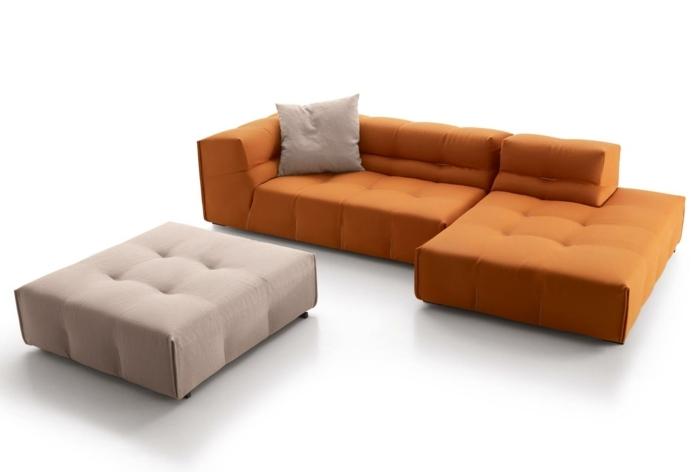 divisiones sofas colores vivos estilos