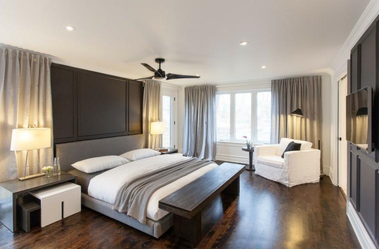 Dormitorios originales 50 ideas para el dise o - Dormitorios madera modernos ...