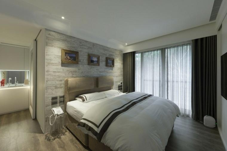 dormitorios originales espacios pequenos camas grande ideas