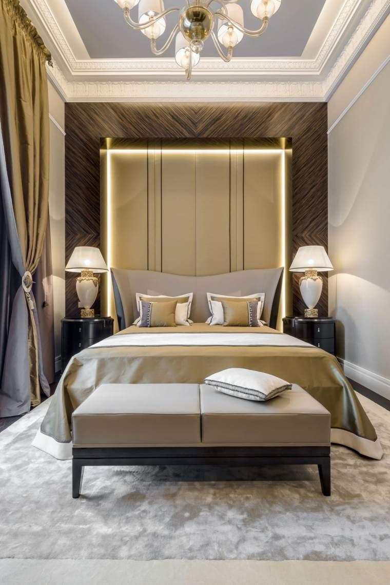 dormitorio original opciones decoracion cama lujo ideas